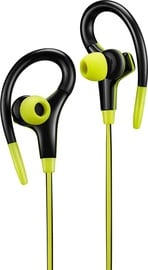 Austiņas Canyon CNS-SEP2 Wired Sport Lime