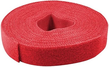 LogiLink Cable Management Velcro 4m x 16mm Red