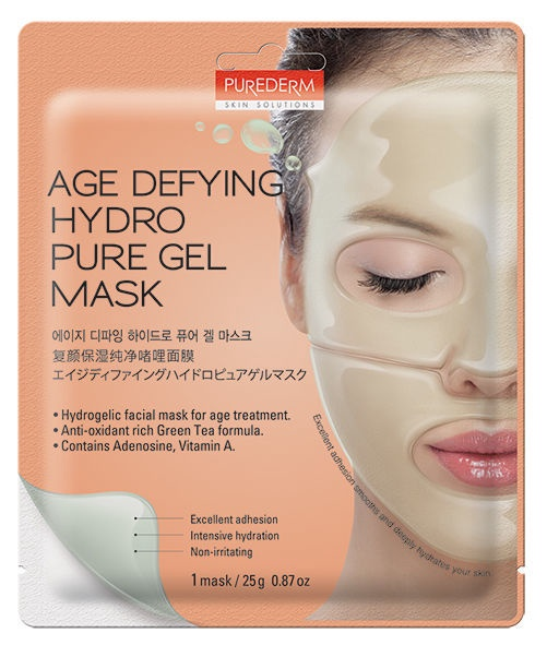Sejas maska Purederm Age Defying Hydro Pure Gel Mask, 1 gab.