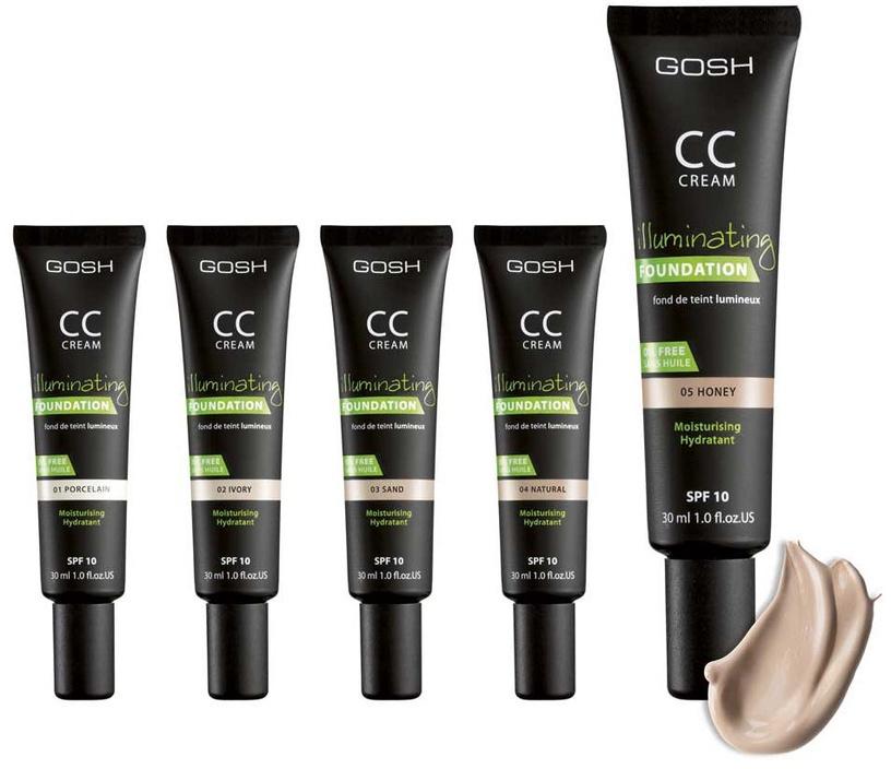 Gosh CC Cream SPF10 30ml 01