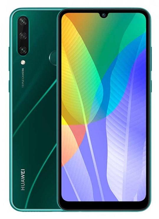 Viedtālrunis Huawei Y6p 3/64GB Dual Emerald Green