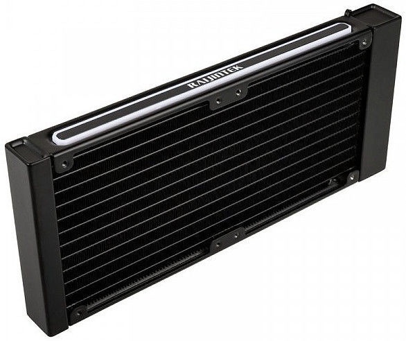 Raijintek Gyges RGB-LED Aluminium Radiator 240mm