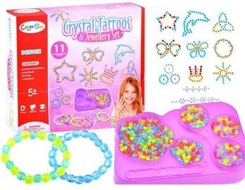Aproces izgatavošanas komplekts Crystal Tattoos & Jewellery Set