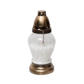 Свеча SN Tomb Candle 9x20cm Brown White