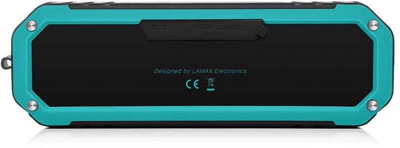 Bezvadu skaļrunis Lamax Sentinel SE-1 Black/Blue, 10 W