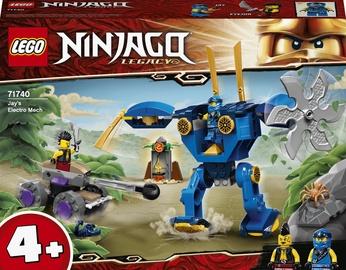 Konstruktors LEGO NINJAGO® Legacy Jay elektrorobots 71740, 106 gab.