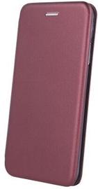 OEM Smart Diva Book Case For Xiaomi Redmi Note 9 Burgundy