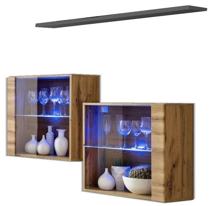ASM Switch SB III Hanging Cabinet/Shelf Set Wotan/Graphite