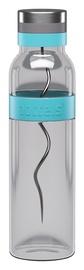 Boddels Glass Carafe Sund 1.1l Turquoise Blue