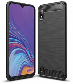 TakeMe Carbon Effect Back Case For Samsung Galaxy A10 Black
