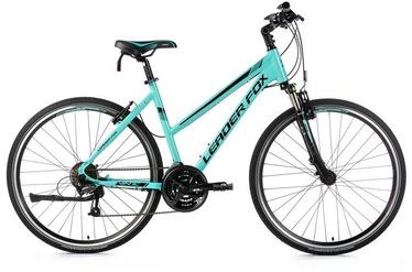 "Велосипед Leader Fox Viatic Lady Blue, 16.5"", 28″"
