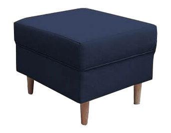 Pufs Idzczak Meble Loft Dark Blue, 52x52x43 cm