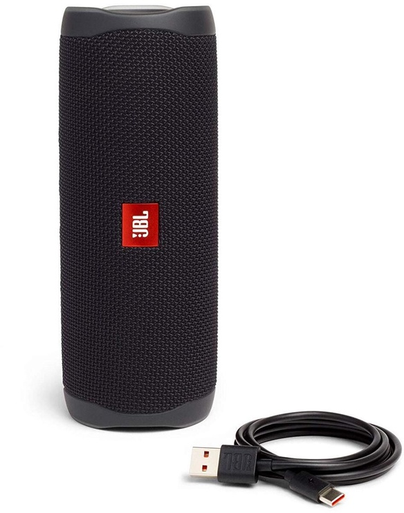 Bezvadu skaļrunis JBL FLIP 5, melna, 20 W