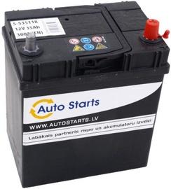 Akumulators Auto Starts, 12 V, 35 Ah, 300 A