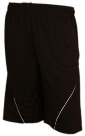 Bars Mens Football Shorts Black 186 XXL