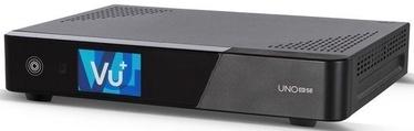 Digitālais uztvērējs VU+ NO 4K SE DVB-C FBC, 23 cm x 17 cm x 4.1 cm, melna
