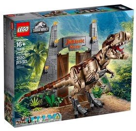 Конструктор LEGO Jurassic World Park T Rex Rampage 75936
