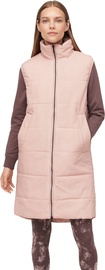 Audimas Long Vest W/ Thinsulate Thermal Insulation Misty Rose S