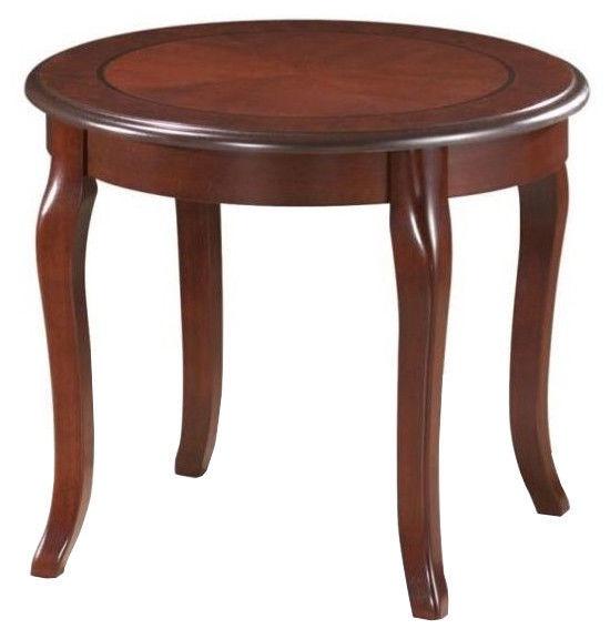 Журнальный столик Signal Meble Royal D Dark Walnut, 600x600x500 мм