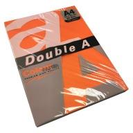 Krāsu papīrs Double A 80G A4 / 100 loksnes, košās krāsās