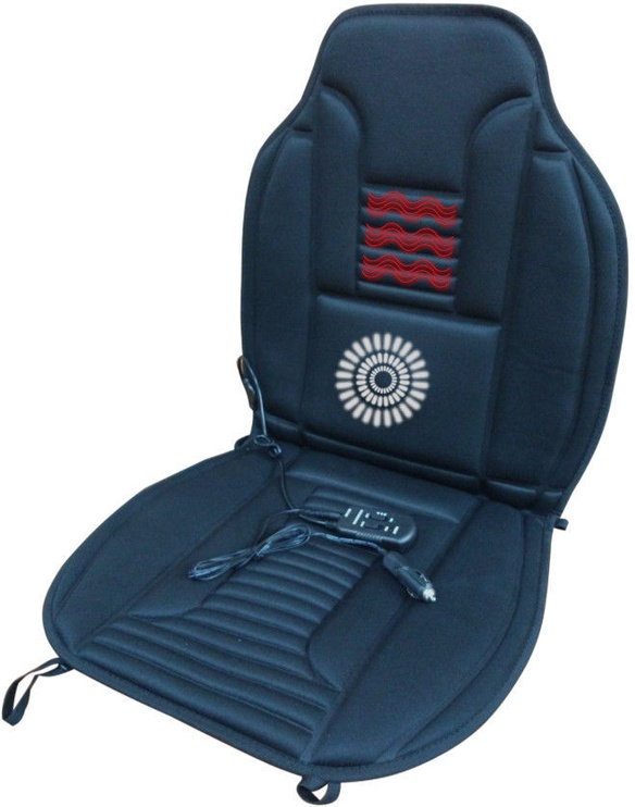 Bottari Hot-Vib Seat Cushion with 1 Massage Motor