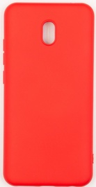 Evelatus Soft Touch Back Case For Xiaomi Redmi 8a Red