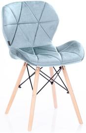 Ēdamistabas krēsls Homede, sudraba