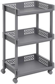 Songmics Storage Rack Grey 36.5x28x61cm