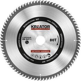 Пильный диск Kreator Sawblade 250x30x3mm 80T