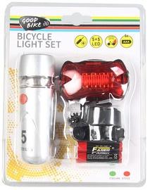 Good Bike KIT5 & 5LED Bicycle Light Set