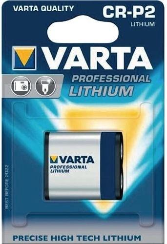 Varta CR-P2 Professional Battery 6V x1