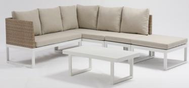 Āra mēbeļu komplekts Masterjero J5011, krēmkrāsas, 1-7 sēdvietas
