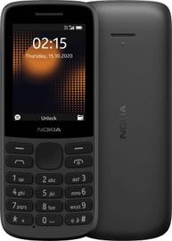 Mobilais telefons Nokia 215 4G, melna, 64MB/128MB