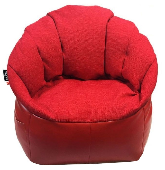 Sēžammaiss Qubo Shell Red Passion, 400 l