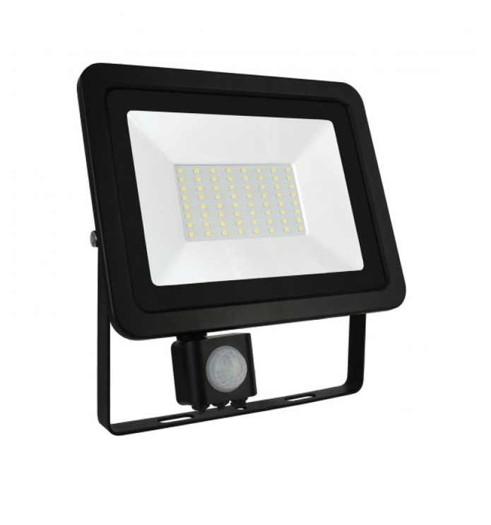 Prožektors NOCTIS LUX 2 SMD NW, LED 50W, IP44 ar sensoru