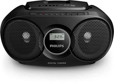 Магнитола Philips AZ215B/12, 3 Вт, черный