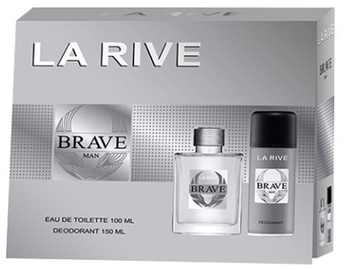 La Rive Brave Man 100ml EDT + 150ml Deodorant Spray