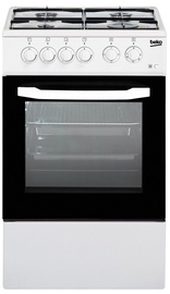 Газовая плита с электрической духовкой Beko CSS 42014 FW