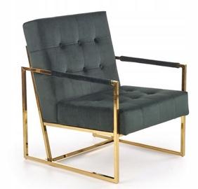 Atzveltnes krēsls Halmar Prius Dark Green, 55x54x78 cm