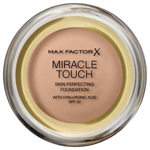 Tonizējošais krēms Max Factor Miracle Touch Skin Perfection Foundation SPF30 75MFSP Golden, 11.5 g