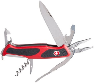 Victorinox Ranger Grip 74 0.9723.C Knife Black / Red