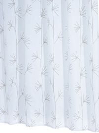 Vannas istabas aizkars Ridder Yucca 41337, balta/smilškrāsas, 1800x2000 mm