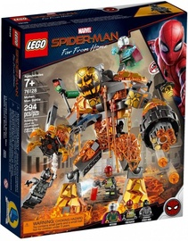 Конструктор Lego Marvel Spider-Man Far From Home Molten Man Battle 76128