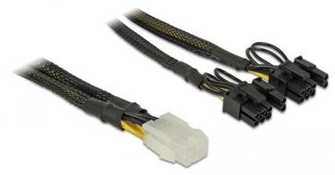 Vads Delock PCI Express Power Cable 6pin / 2 x 8pin 0.3m