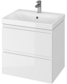 Vannas istabas skapītis Cersanit Moduo S801-223-DSM with Basin White