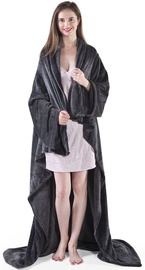 DecoKing Lazy Blanket Charcoal 170x200cm