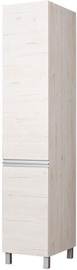 Skapis Bodzio Monia Left Door Pearl Soma Oak, 40x60x207 cm