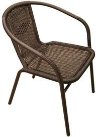 Садовый стул Besk, черный, 55 см x 56 см x 74 см