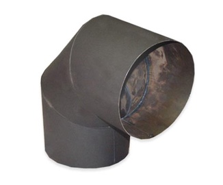 Колена для вытяжек Abx, коричневый