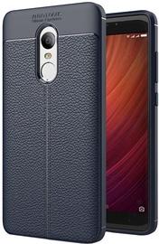 Hurtel Litchi Pattern Back Case For Xiaomi Redmi Note 4/4X Blue